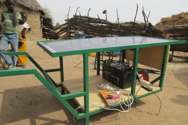 Electrification – NIGER – Brouette solaire mobile
