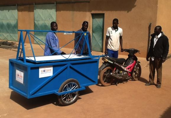 Electrification – BURKINA FASO – Prototype de remorque solaire